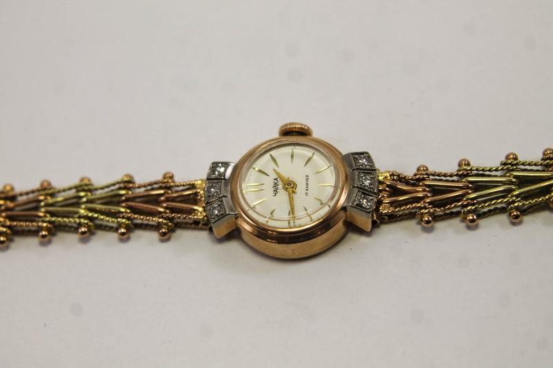 a84e2d6a Наручные часы купить в Сочи: Роскошные женские золотые часы «Чайка»